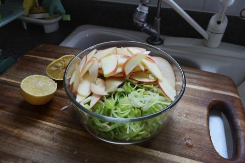 Apple & Leek Salad!