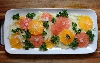 Exploding Oranges & A Funky Fennel Salad
