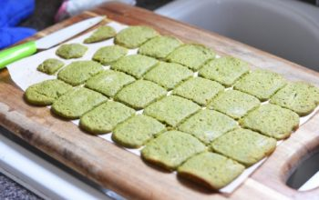 Matcha, Honey & Ginger Cookies!