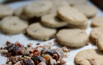 Spiced Fig Brown Sugar Cookies