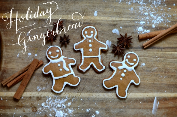 holiday ginger bread