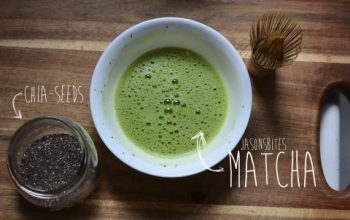 Matcha: Why it's awesome + a simple chia pudding recipe!